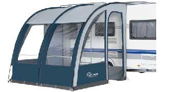 Dorema Magnum Blue & grey 260cm Caravan Awning