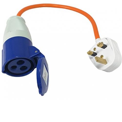 Mains Electric Hook-Up UK conversion lead image 1