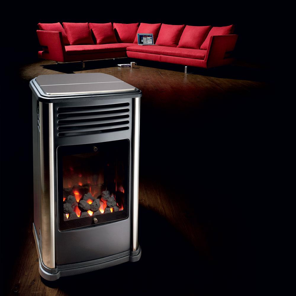 Manhattan Contemporary Stove Portable Gas Fires