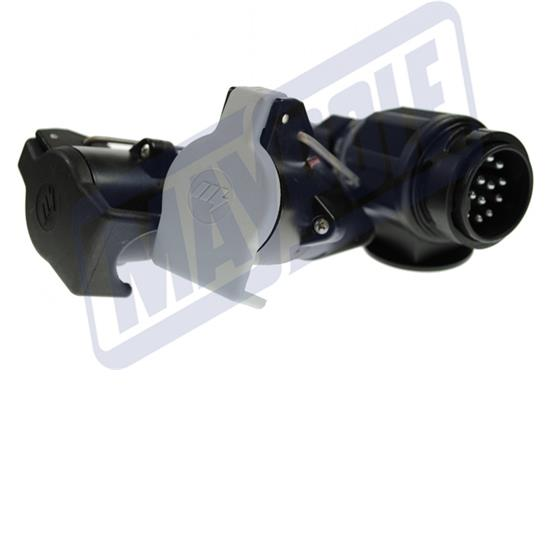 Maypole 13 pin plug to 7 pin Towing Socket Conversion Lead image 2