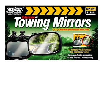 Maypole towing mirrors