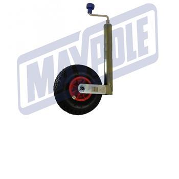 Maypole Jockey Wheel Pneumatic , 48 mm
