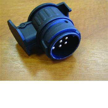 Milenco Adaptor (car 7pin, caravan 13pin) Lights Only