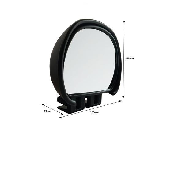 Milenco Aero Blind Spot Mirror-Black image 3
