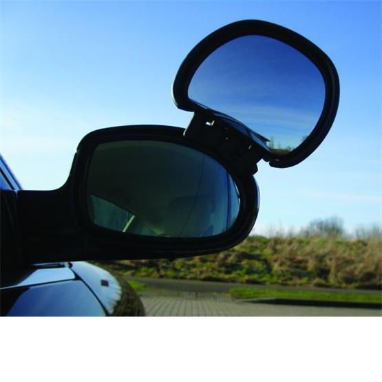 Milenco Aero Blind Spot Mirror-Black image 1