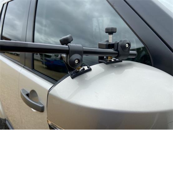 Milenco Grand Aero Platinum Mirror (Pair) image 7