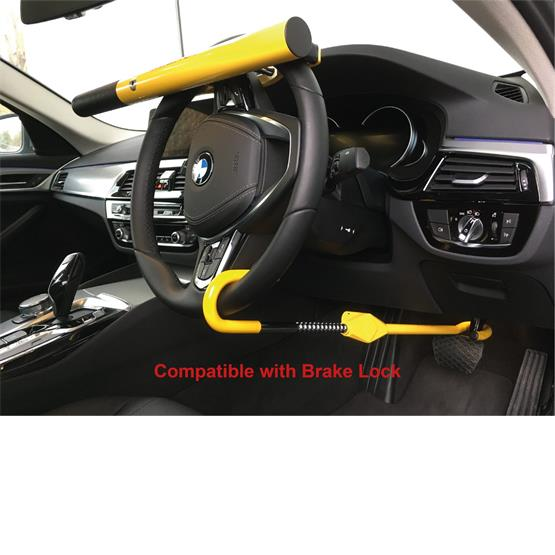 Milenco High Security Steering Wheel Lock (Yellow) image 4