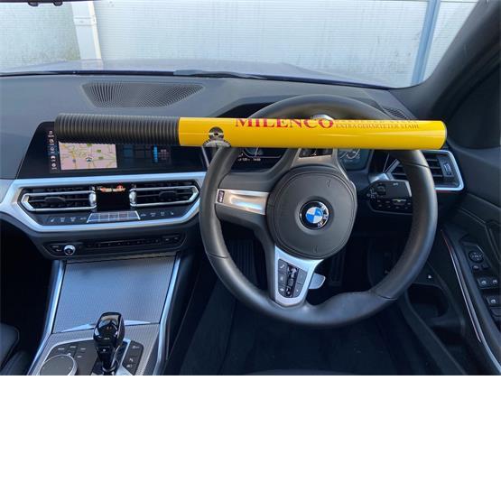 Milenco High Security Steering Wheel Lock (Yellow) image 3