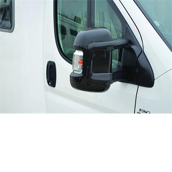Milenco Motorhome Mirror Protectors (Wide Arm) - Black