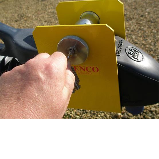 Milenco Super Heavy Duty WS3000 Caravan Hitch Lock image 7
