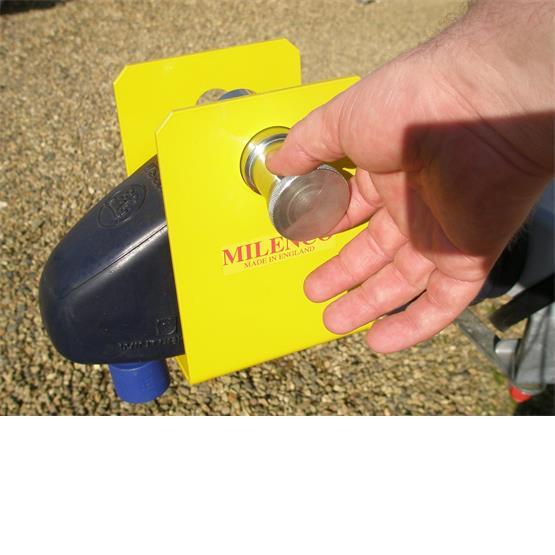 Milenco Super Heavy Duty WS3000 Caravan Hitch Lock image 5