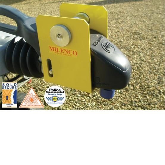 Milenco Super Heavy Duty WS3000 Caravan Hitch Lock image 3