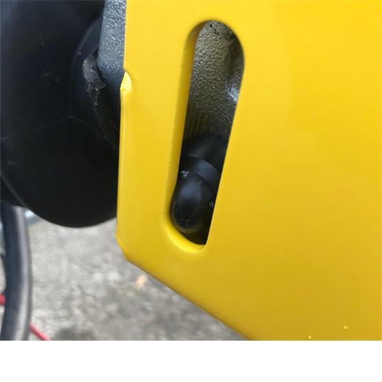 Milenco Super Heavy Duty WS3000 Caravan Hitch Lock image 2