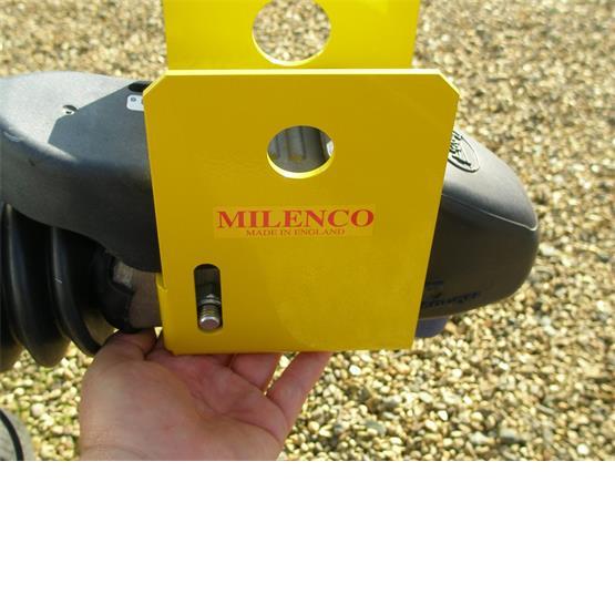 Milenco Super Heavy Duty WS3000 Caravan Hitch Lock image 4