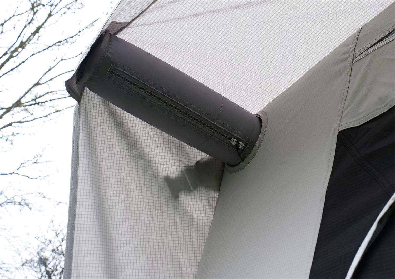 Vango's Montelena Caravan Awning's front bracer beams.