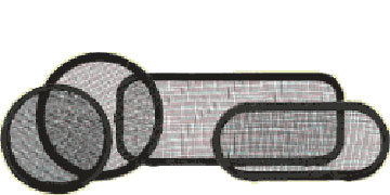 Vetus Mosquito screen for porthole type PM25