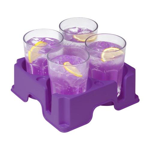 Muggi Multi-Cup Holder (Purple)