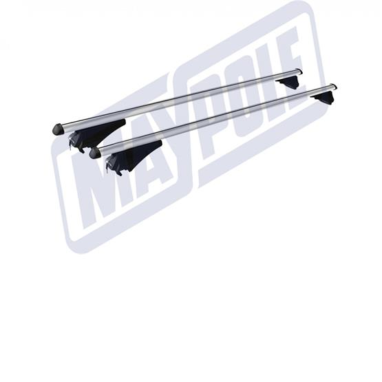 MWAY AVIA UNIVERSAL ALUMINIUM ROOF BARS 1.35M FOR INTEGRATED AND RAISED ROOF RAILS