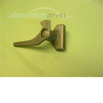 New Polyplastic window lever with button