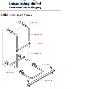 Thule Omni-Bike Sport Bike Rack Model Spare Parts