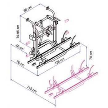Thule Omni-Bike Lift Bike Rack Spare Parts