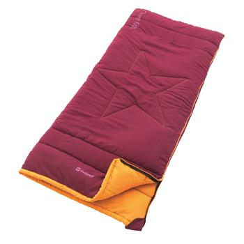 Outwell Champ Kids Sleeping bag (Beet Red)
