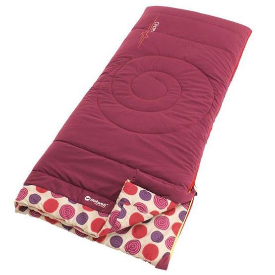 Outwell Circles Kids Sleeping Bag (Berry)