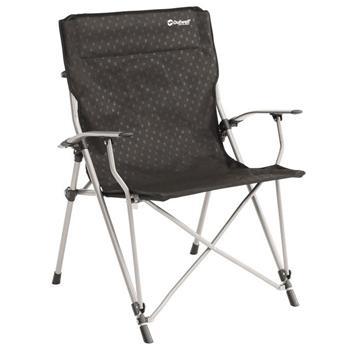 Outwell Goya XL Folding Camping Arm Chair (Black)