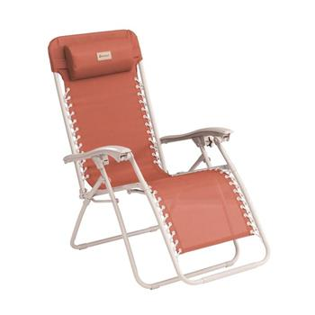 Outwell Ramsgate Warm Red Reclining Camping Chair