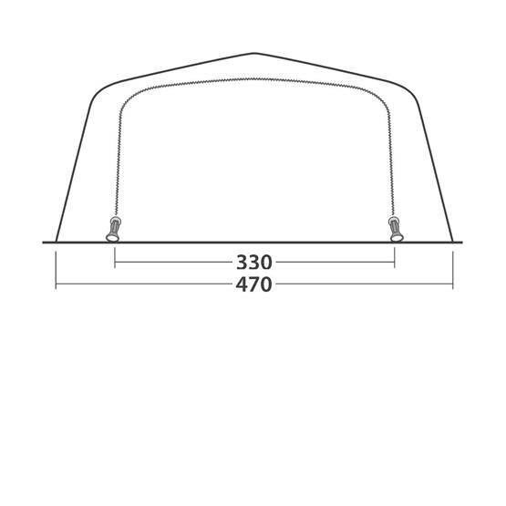 Outwell Wood Lake 7 ATC Family Tent (2021) image 17
