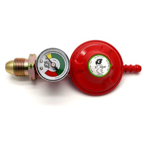IGT Propane Regulator with Gas Level Gauge (Manometer)