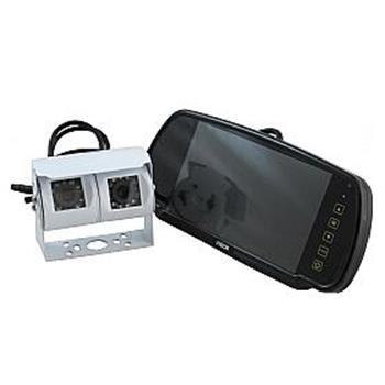 """Ranger 430 - 7"""" Clip-over Mirror Monitor / Dual Camera System image 2"""