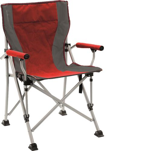 Raptor Folding Chair Red/Grey