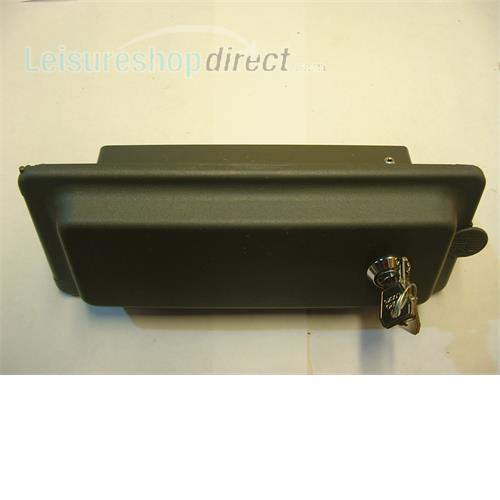 Reich  External BBQ point cover -grey with lock