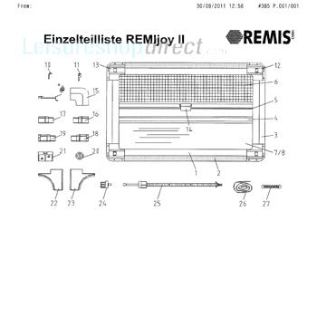 Remis REMIjoy ll Blinds Spare Parts