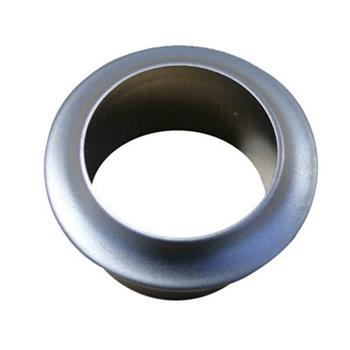 Rosette nickel for push button
