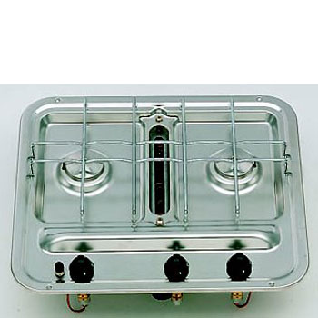 Smev Series 2 Burner Caravan Hob with Grill without Electronic Ignition (1242)