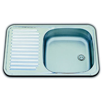 SMEV Small Caravan Sink/Drainer with 20mm angled waste
