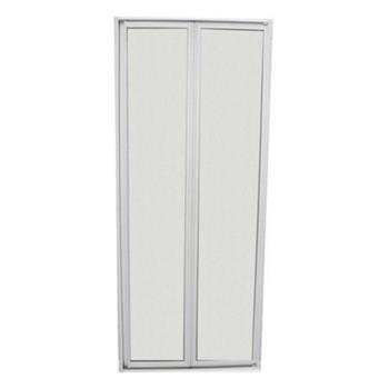 Shower bi-fold door and frame