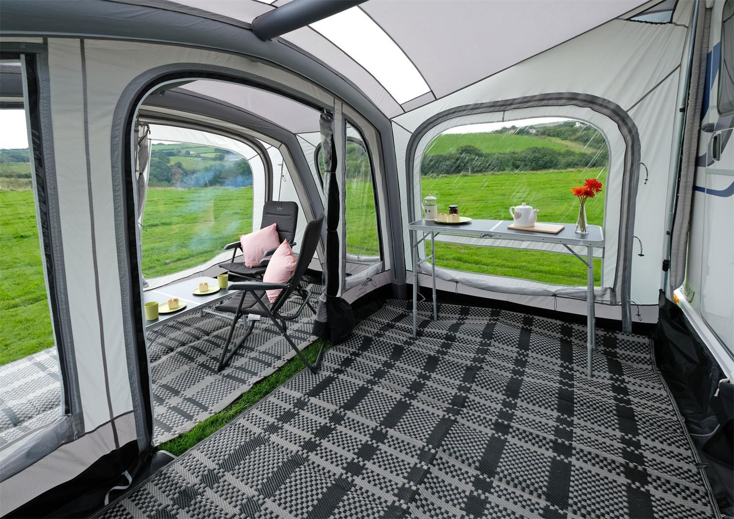 Vango Sonoma Awning with porch.