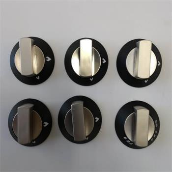 Spares kit two piece knobs satin 6 pck
