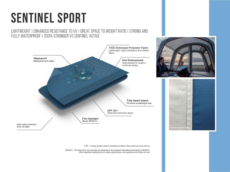 Vango's Sport fabric.