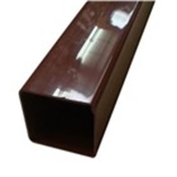 Square Line Downpipe, 2.5M x 65mm in Brown (used by Regal, Victory, ABI, Atlas, Swift and others) image 1