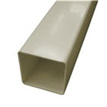 Square Line Downpipe, 2.5M x 65mm in Sandstone (used by Regal, Victory, ABI, Atlas, Swift and others)