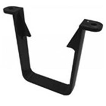 Square Line Downpipe Gutter 65mm Clip in Black (used by Regal, Victory, ABI, Atlas, Swift and others)