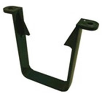 Square Line Downpipe Gutter 65mm Clip in Green (used by Regal, Victory, ABI, Atlas, Swift and others) image 1