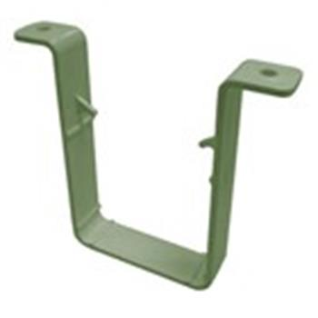 Square Line Downpipe Gutter 65mm Clip in Quarry Grey (used by Regal, Victory, ABI, Atlas, Swift and others) image 1