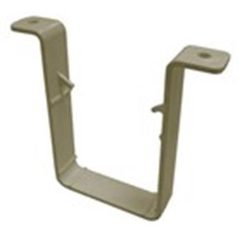 Square Line Downpipe Gutter 65mm Clip in Sandstone (used by Regal, Victory, ABI, Atlas, Swift and others) image 1