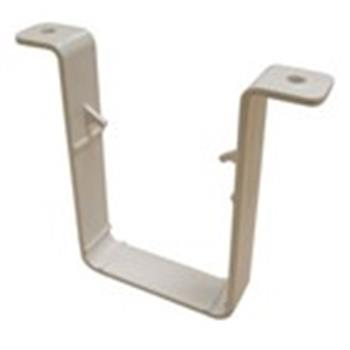 Square Line Downpipe Gutter 65mm Clip in White (used by Regal, Victory, ABI, Atlas, Swift and others) image 1