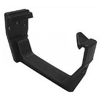 Square Line Gutter Bracket in Black (used by Regal, Victory, ABI, Atlas, Swift and others) image 1